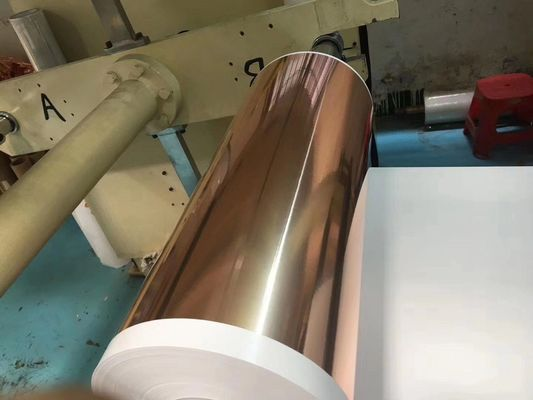 Refined Ultra Thin Copper foil 6um, Max 620mm Width Battery Copper Sheet Roll