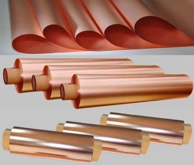Ultra Thin Copper Thin Sheet For PCB / FPC 500 - 5000 Meter Length Per Roll